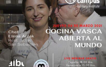 Chef Elena Arzak: Cocina Vasca abierta al Mundo