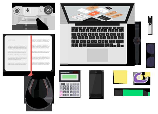 desk-items
