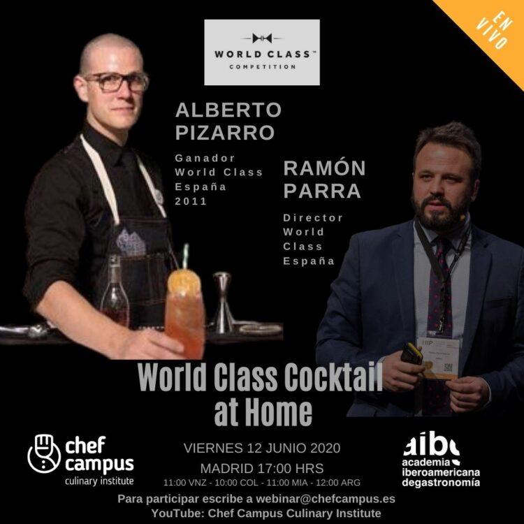 World Class Cocktail – Alberto Pizarro y Ramón Parra