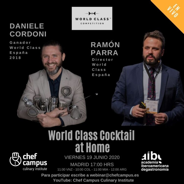 World Class Cocktail – Daniele Cordoni y Ramón Parra