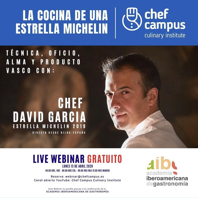 Chef David García: Técnica, Oficio, Alma y Producto Vasco