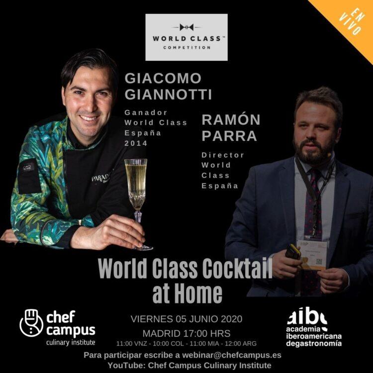 World Class Cocktail – Giacomo Giannotti y Ramón Parra