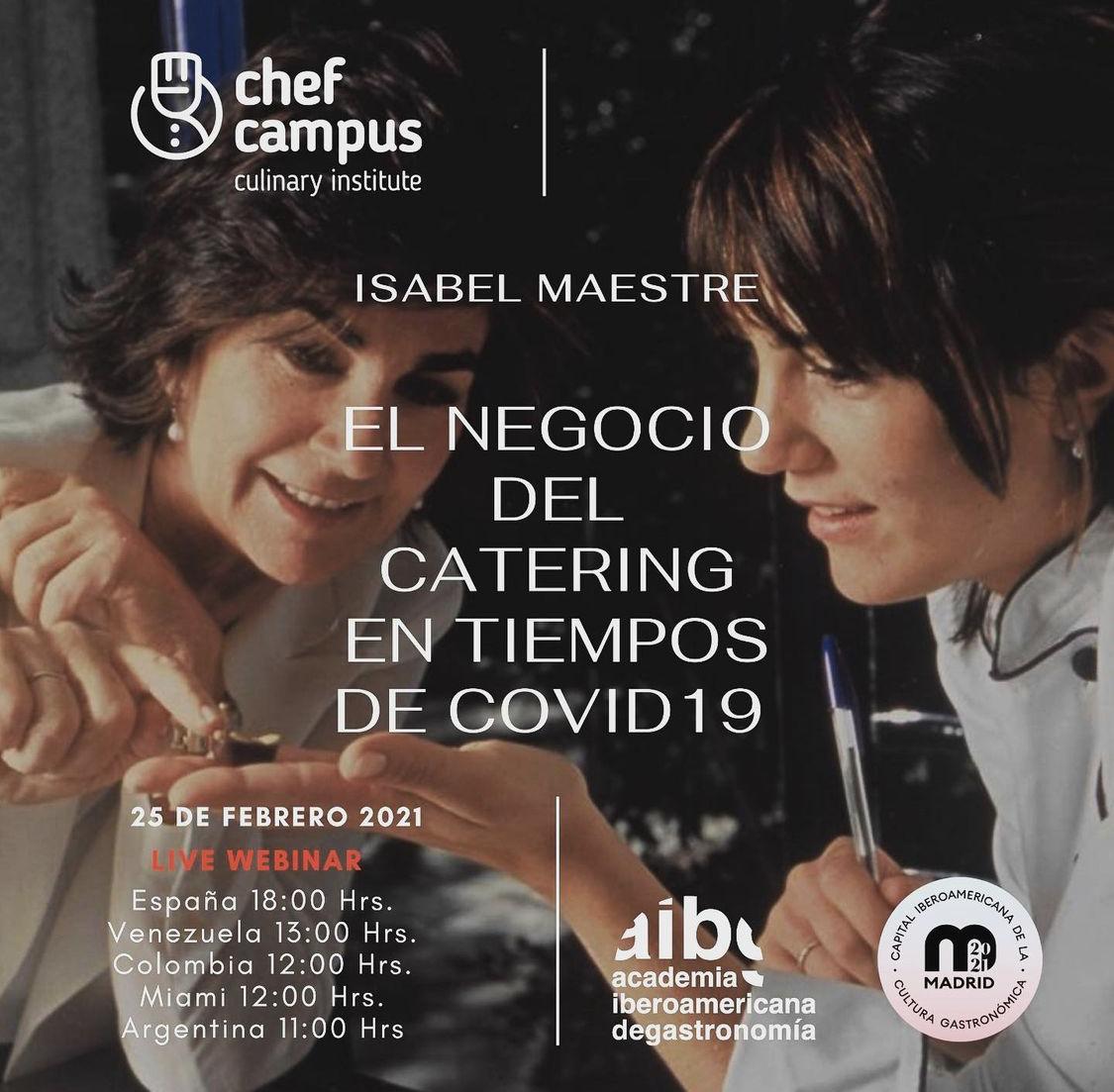 Isabel Maestre: El Negocio del Catering en Tiempos de Crisis