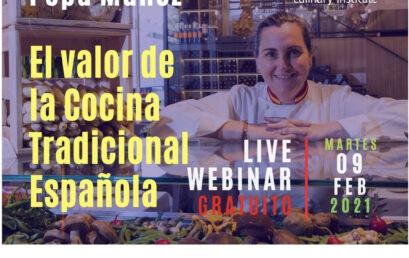 Chef Pepa Muñóz: El Valor de la Cocina Española