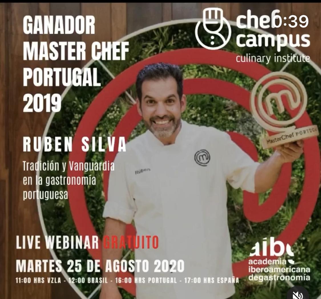 Chef Ruben Silva: Tradición y Vanguardia en la Gastronomía Portuguesa