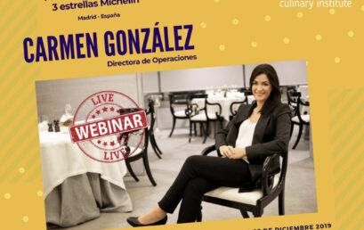 Carmen González- Zalacain  Cómo se Gerencia una Sala de un Restaurante de Alta Gama