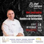 Chef José Andrés – La Gastronomía Bandera de Solidaridad