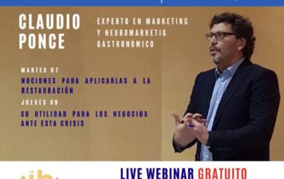 Claudio Ponce- Qué es el Marketing Gastronómico y su Utilidad