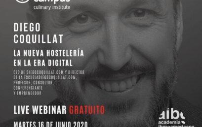 Diego Coquillat – La Nueva Hostelería en la Era Digital