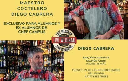 Diego Cabrera: Innovación y Técnicas de Vanguardia en la Coctelería