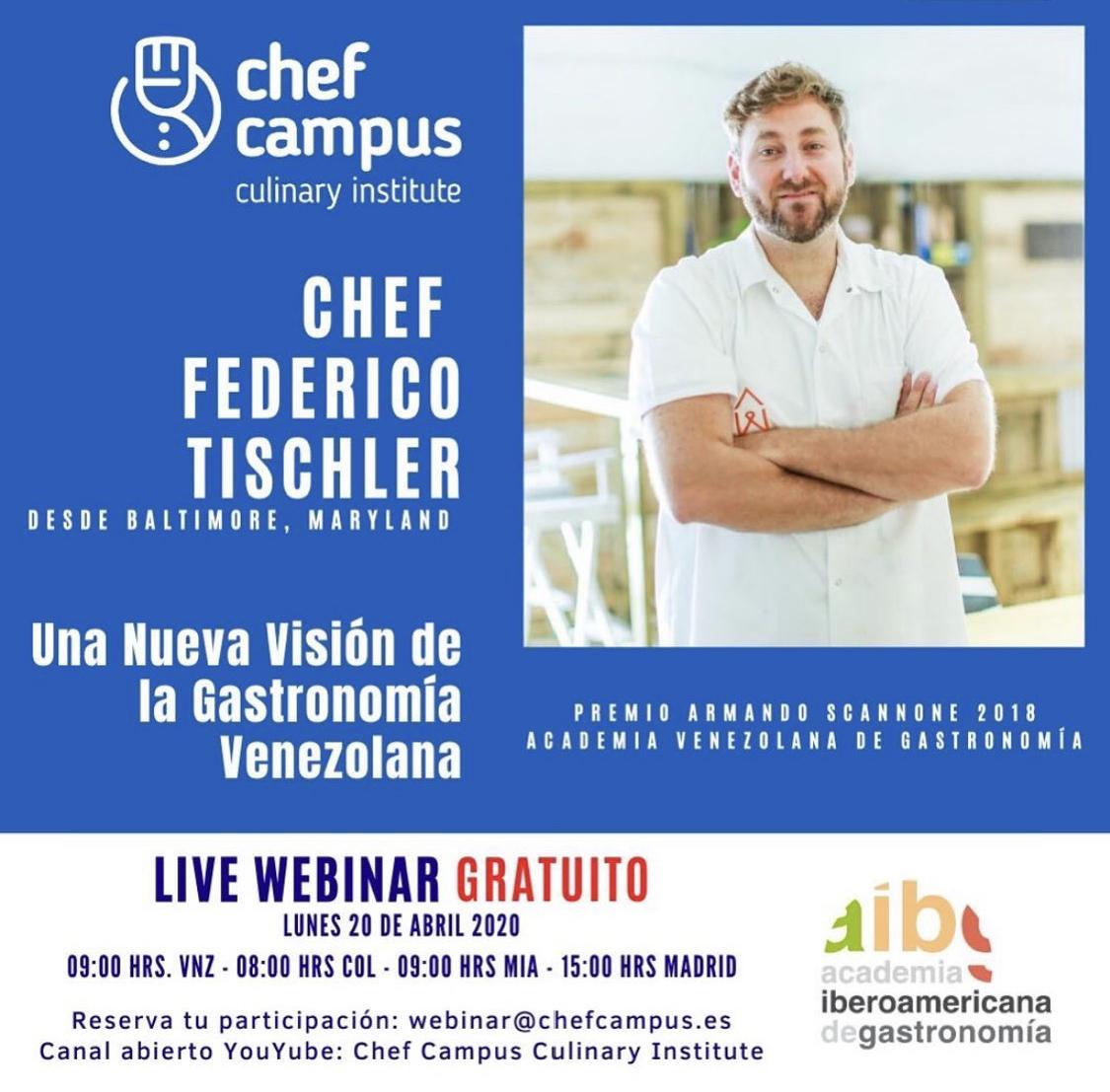 Chef Federico Tischler: Una Nueva Visión de la Cocina Venezolana