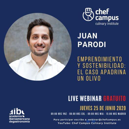 Juan Parodi – Emprendimiento y Sostenibilidad: El caso Apadrina un Olivo