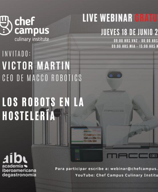 Macco Robotics – Los Robots en la Hostelería