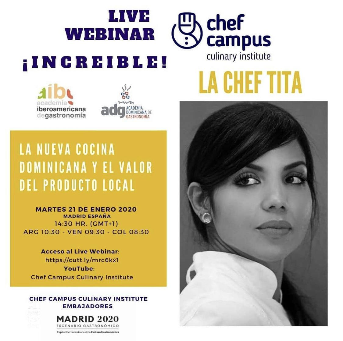 La Chef Tita – La Importancia del Producto Local – República Dominicana
