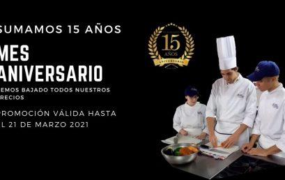 15 Aniversario Chef Campus Culinary Institute