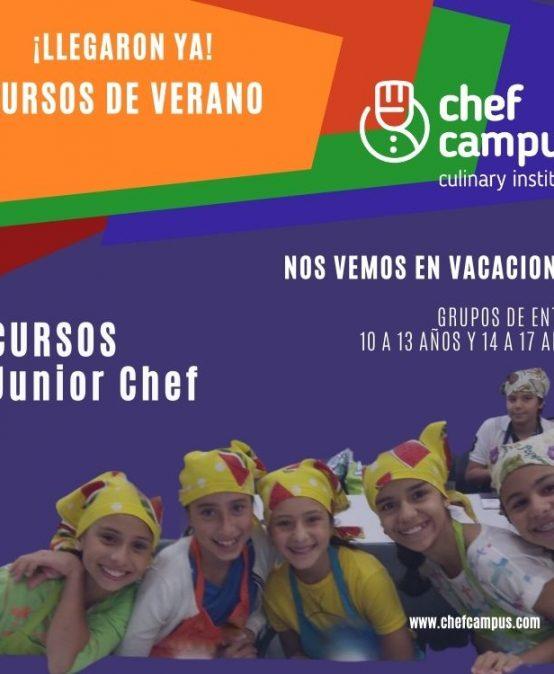 Plan Vacacional -Junior Chef