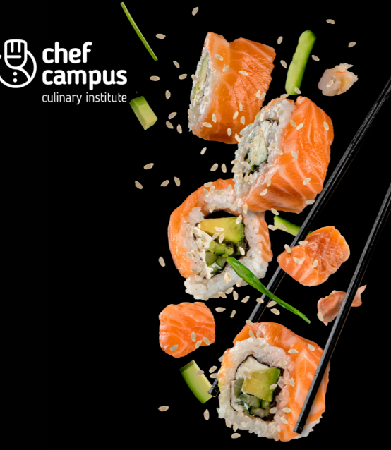 Curso Especializado Presencial de Sushi