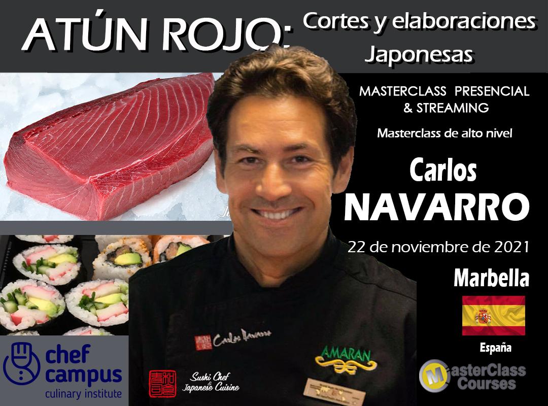 Cartel_CARLOS NAVARRO 22_11 MARBELLA 2021 ES Chef Campus