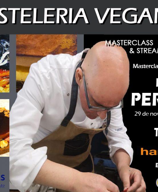 Curso Especializado – Presencial & Streaming – Pastelería Vegana